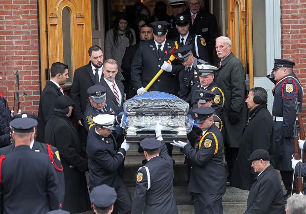 Funeral for Worcester firefighter Lt. Jason Menard